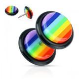 Faux-écarteur acry 03 - Gay-pride