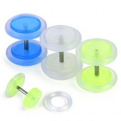 Faux-écarteur acry 15 - Fluorescent