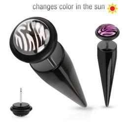 Faux-écarteur acry 18 - Pointe glow in sun