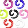 Faux-écarteur acry 28 - Spirale unicolore