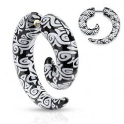 Faux-écarteur acry 31 - Spirale deluxe