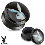 Plug acrylique dévissable Playboy D