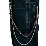 Chaine de jean 03 - Cuir et vis