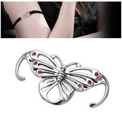 Bracelet en dentelle 04 - Papillon
