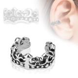 Faux Piercing oreille 58 - Bague couronne
