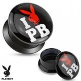 Plug acrylique dévissable Playboy
