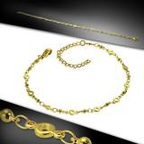 Chaine de cheville 70 - Gold-ip chaine cercles
