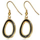 Crochets en acier 09 - Gold ip cercles fond noir