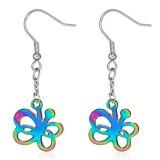 Crochets en acier 16 - Papillon rainbow