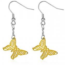 Crochets en acier 36 - Gold ip papillon