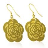 Crochets en acier 58 - Gold ip fleur