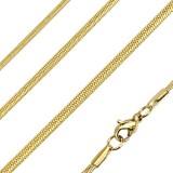 Chaine acier 60 - Gold-ip