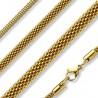 Chaine acier 67 - Gold-ip