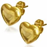 Clous en acier 102 - Gold ip coeur