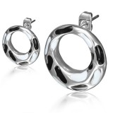 Clous en acier 118 - Cercle blanc et noir
