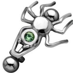 Piercing micro-barbell 14 - Araignée