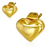 Clous en acier 149 - Gold ip coeur