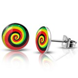 Clous logos 18 - Spirale jamaique