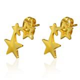 Clous en acier 179 - Gold ip deux étoiles