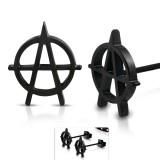 Clous en acier 192 - Anarchie black