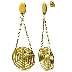 Clous pendants 06 - Toile gold-ip
