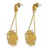 Clous pendants 08 - Gold iP chainettes
