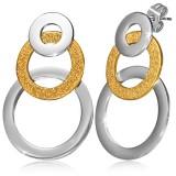 Clous pendants 09 - Coeur gold-ip