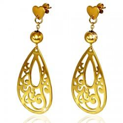 Clous pendants 13 - GOLD iP ovale deluxe