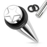 écarteur acier pointe avec étoile