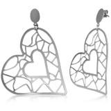 Clous pendants 21 - Coeur creux