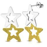 Clous pendants 35 - Deux étoiles