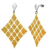 Clous pendants 51 - Losange gold-ip