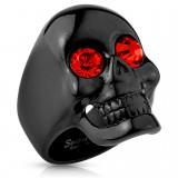 Bague gothique 35 - Black-line oeil rouge