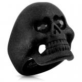 Bague gothique 36 - Satin noir