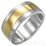 Bague gold-ip 12 - Centre coloré A