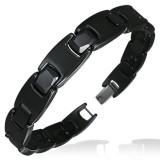 Bracelet céramique 11 - Noir