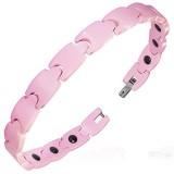 Bracelet céramique 13 - Rose