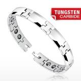 Bracelet en tungstène 01 - Argenté