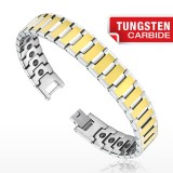 Bracelet en tungstène 04 - Gold-IP
