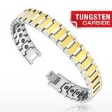 Bracelet en tungstène 04 - Gold-IP