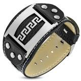 Bracelet vinyle 10 - Ligne grecque