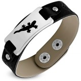 Bracelet vinyle 15 - Salamandre