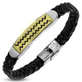 Bracelet prestige 37 - Vinyle et acier