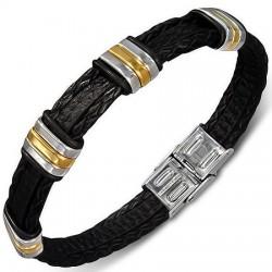 Bracelet prestige 42 - Vinyle et acier