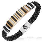 Bracelet prestige 46 - Vinyle et acier
