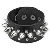 Bracelet gothique 05 - Grosses pointes et petites pointes