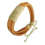 Bracelet en cuir 010