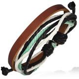 Bracelet en cuir 019
