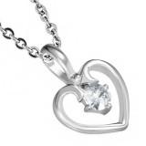 Pendentif petit coeur zircone (37)
