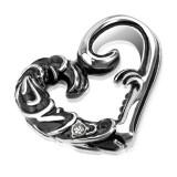 Pendentif coeur gothique (78)